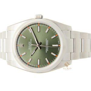 Đồng Hồ Rolex Oyster Perpetual 34 114200 Mặt Số Xanh Lá