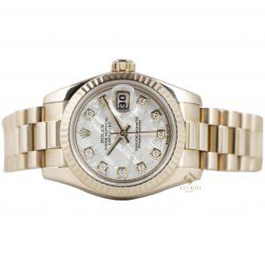 Đồng Hồ Rolex Lady Datejust 179175 Mặt Số Thiên Thạch