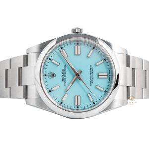 Đồng Hồ Rolex Oyster Perpetual 41 124300 Mặt Số Ice Blue