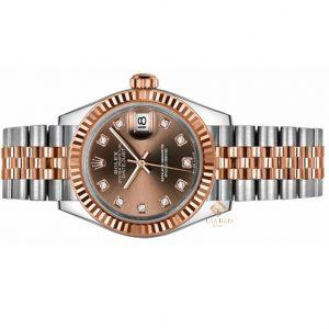 Đồng hồ Rolex Lady Datejust 279171 Mặt Số Chocolate Nạm Kim Cương